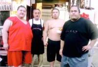 お相撲さん達
