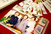 市野川艶子さん(右)安達文子さん(中)杉本千代子さん(左)の三姉妹