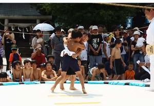 こども相撲大会