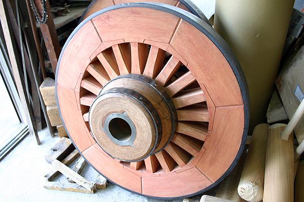 山車の車輪