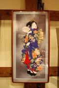 昔のロマンを古布で・・吉松紀代子くるみ絵作品展