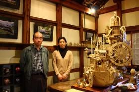 海老沢さん(左)と納見さん(右)