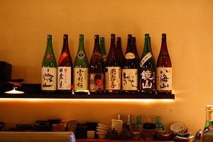 日本酒などお酒も豊富