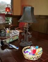 テーブルの小物類