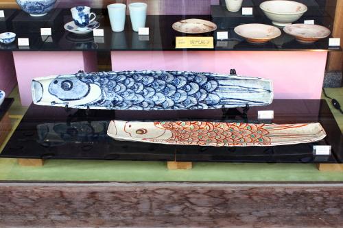 陶器の鯉のぼり