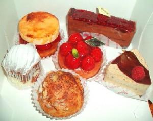 ブロンディールのケーキ