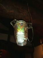 ビー玉の照明