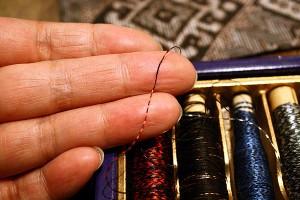 大島紬の糸