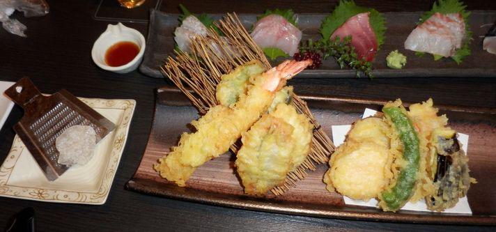 旬限定天ぷら盛り合わせ