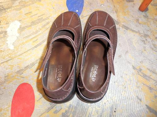 靴(茶色)