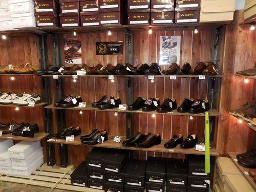 旅靴屋 店内 地下1
