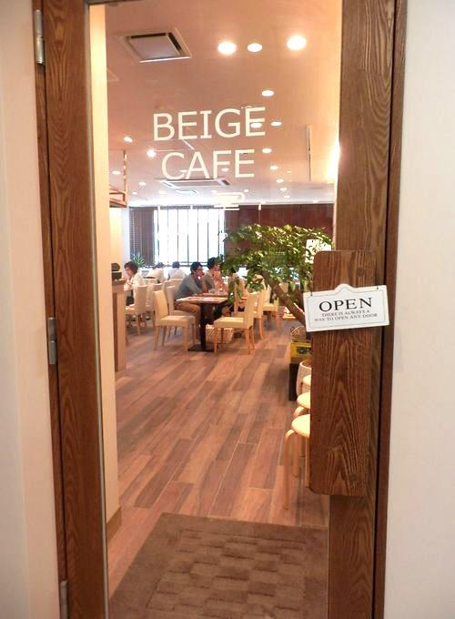 BAIGE CAFÉ入り口
