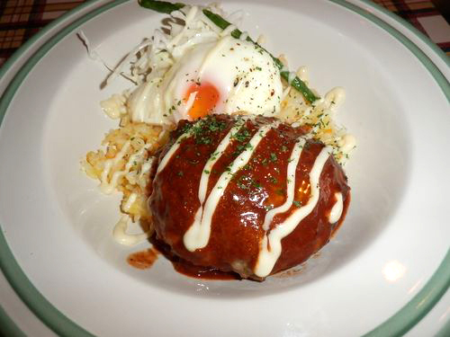 ラフテル特製ロコモコ丼