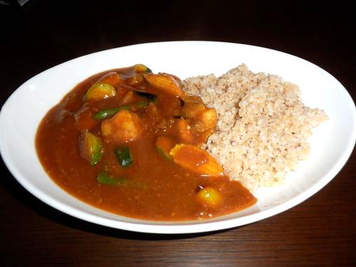 小江戸黒豚と野菜のカレー・玄米
