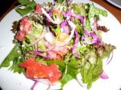焼きサラミのサラダ