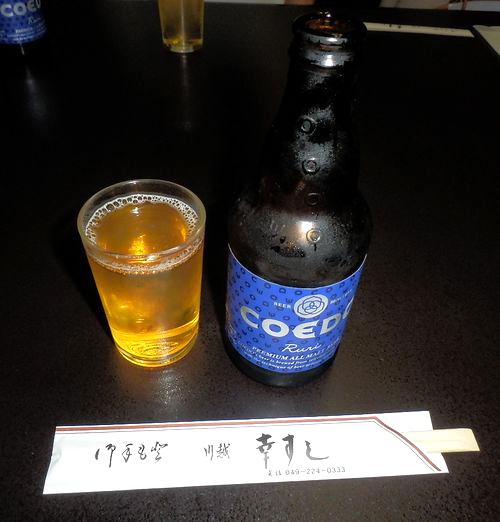 COEDOビール瓶
