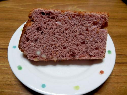 シフォンケーキ(木苺&ホワイトチョコ)