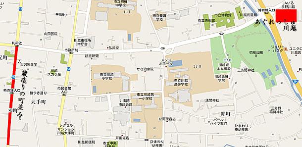 あぐれっしゅ川越地図2