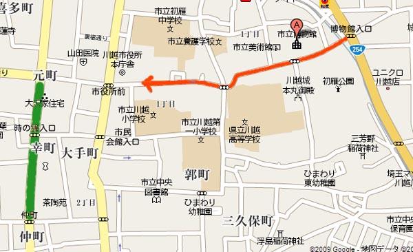 抜け道マップ