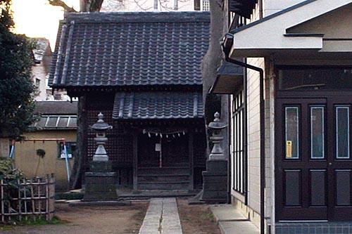 火事前の菅原神社