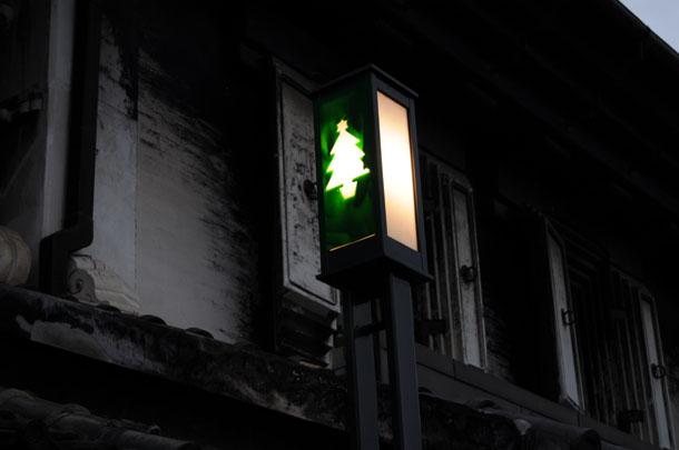 川越一番街の街灯