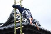 「小江戸川越春まつり」オープニングイベント「鳶職人のはしご乗り」