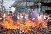 成田山川越別院の火渡り祭り