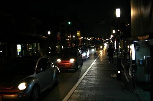 川越一番街の渋滞