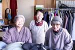 おばあちゃん達のバザー
