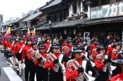 「小江戸川越春まつり」オープニングイベント「マーチングバンド」