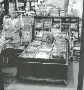 昭和40年代ころの駄菓子屋の様子