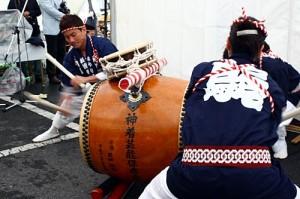 木遣り太鼓