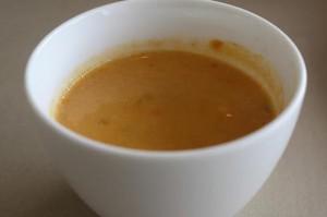 かぼちゃと野菜のスープ