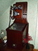 懐かしい電話機