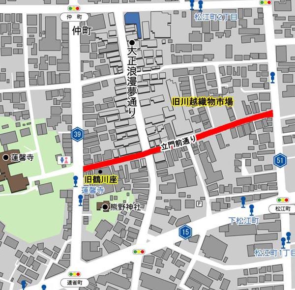 立門前通Map