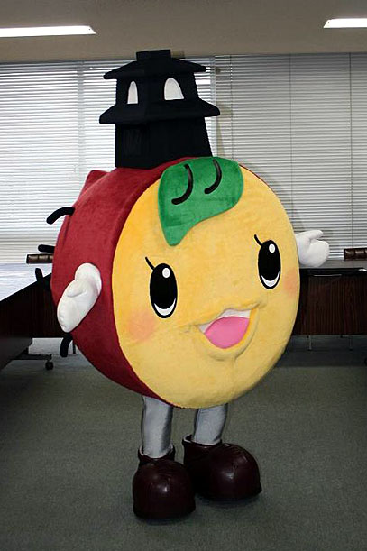 川越市のマスコットキャラクター「ときも」