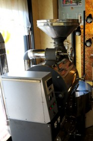 5Kgの珈琲焙煎機