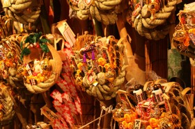 熊野神社「酉の市」の熊手
